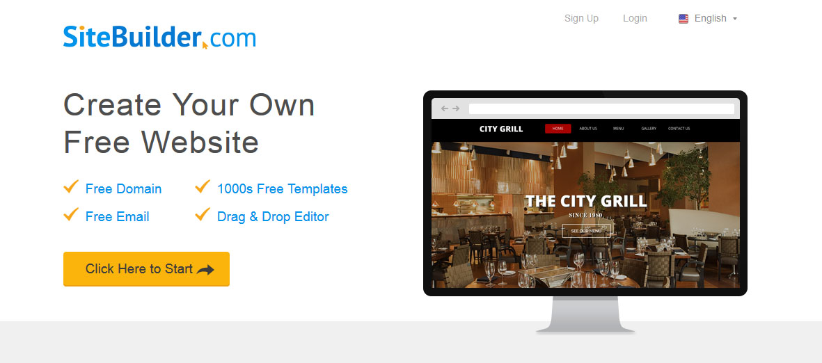 Top 5 Best Website Builders Sitebuilder