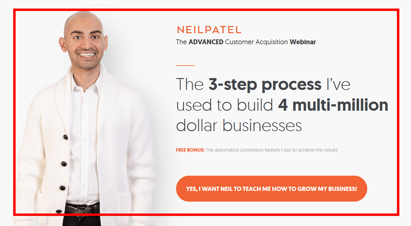 Neil Patel Optin Feature Box