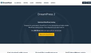 Dreamhost Best Managed WordPress Hosting