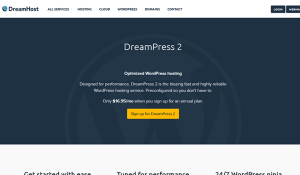Dreamhost Best Managed WordPress Hosting