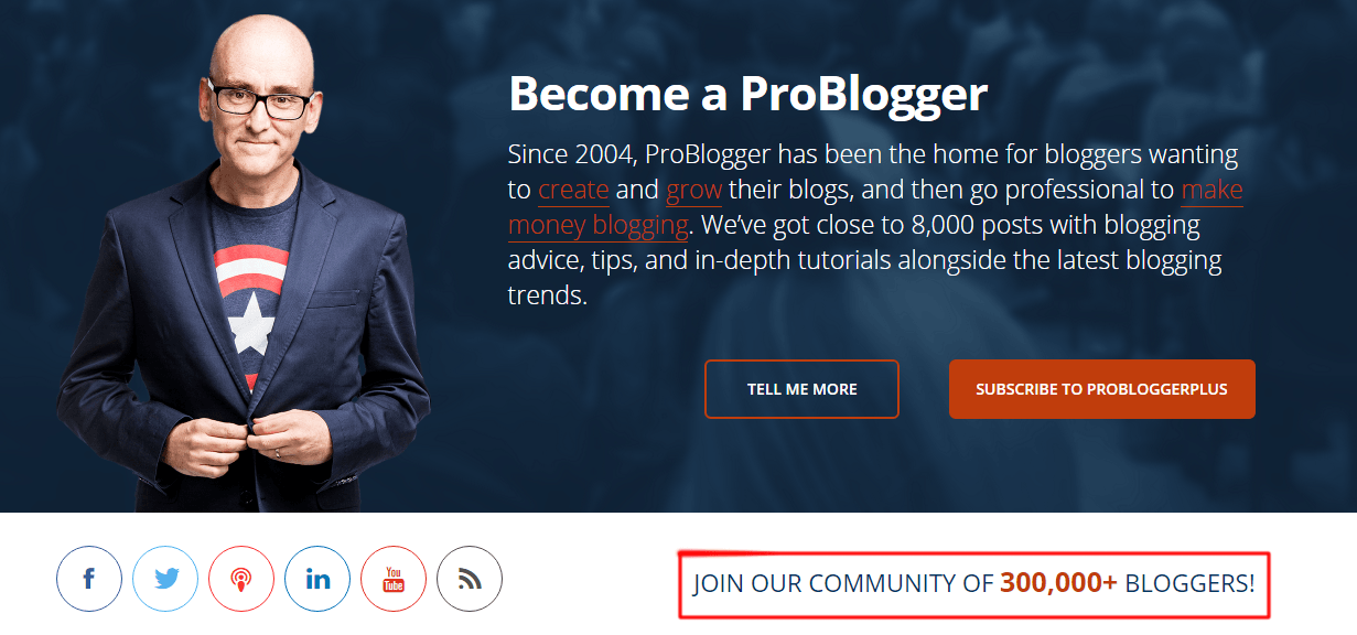 problogger followers