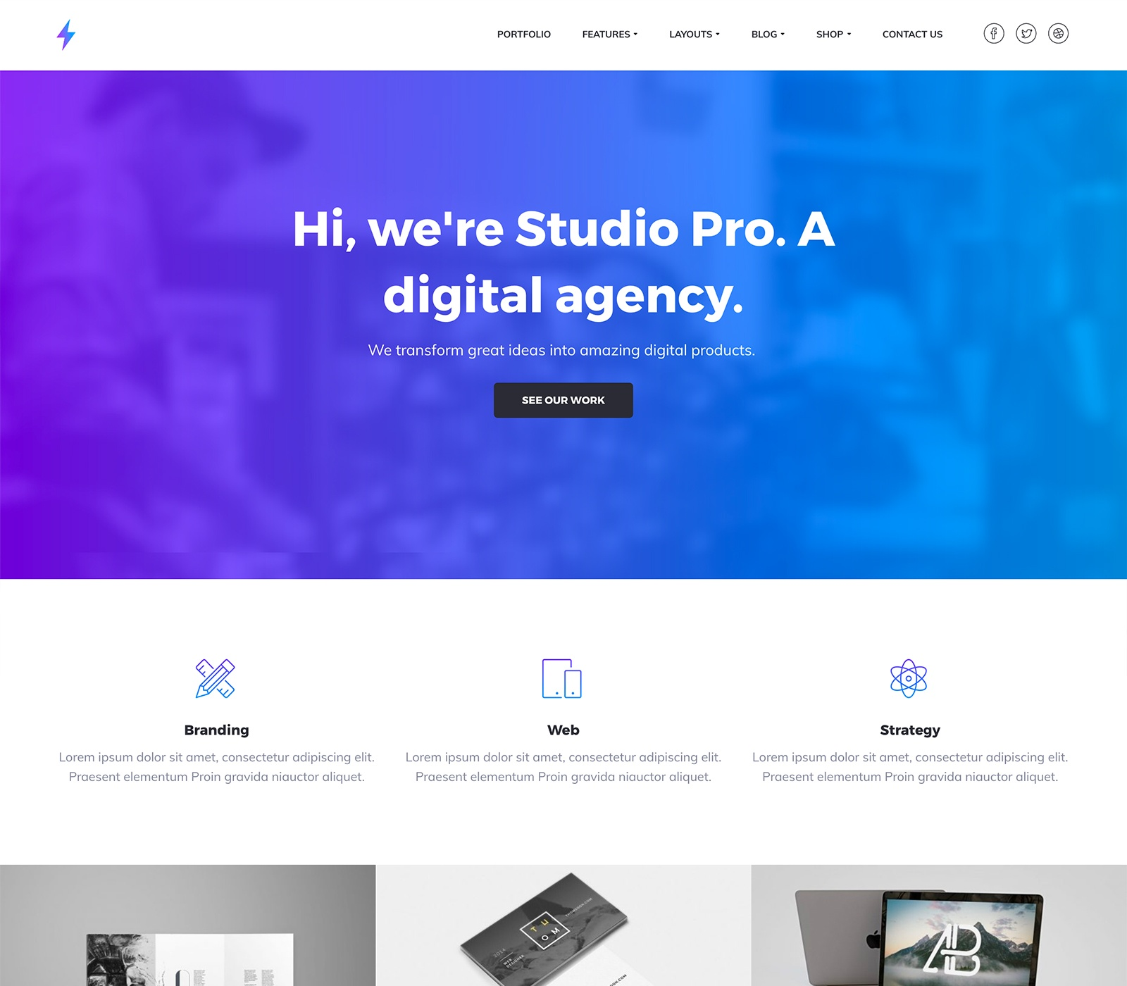 Studio Pro Theme Top 10 Best Genesis Child Themes For WordPress Blogs