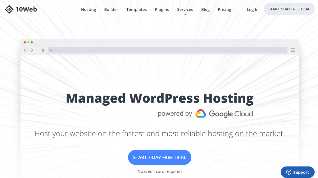 10web managed wordpress hosting
