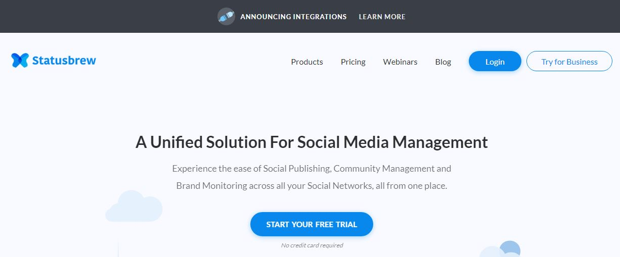 Statusbrew Twitter Management Tool