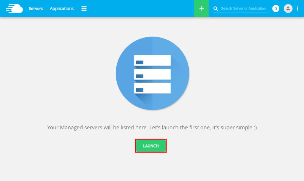 1. Launching-server-cloudways