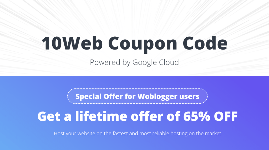 10web coupon code promo code managed wordpress hosting