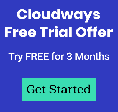 Try Cloudways free for 3 months