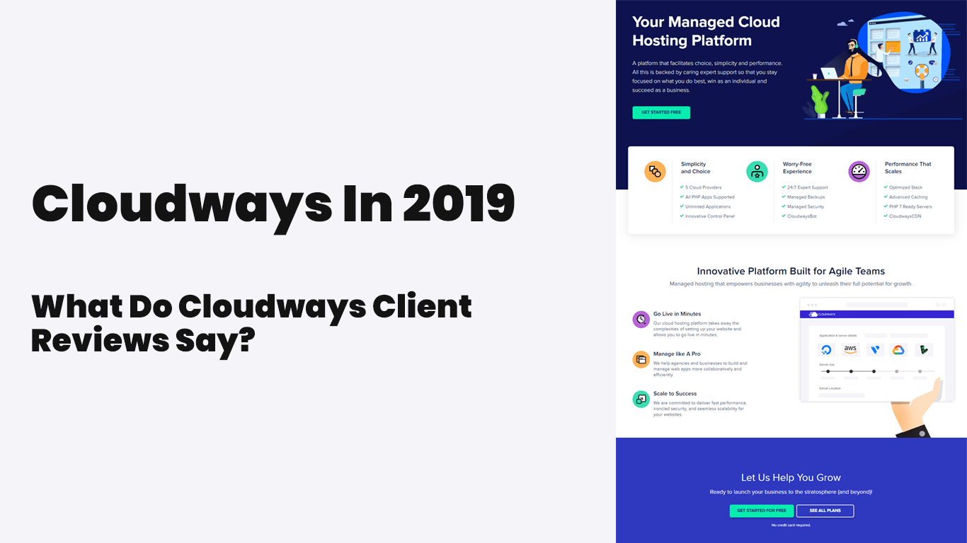 Cloudways Review: An Excellent, Focused Web Host? We Find Out (2019)