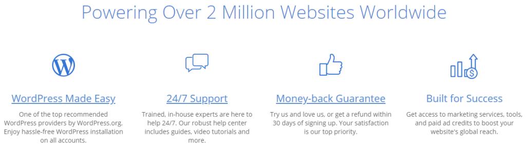 powering over 2 million websites