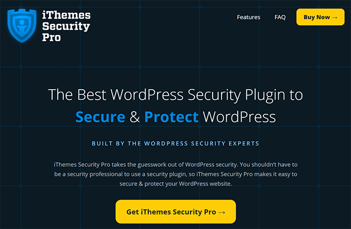 ithemes site security