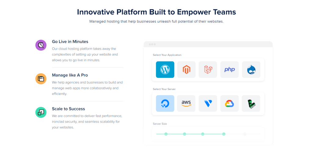 cloudways Innovative Platform Built to Empower Teams