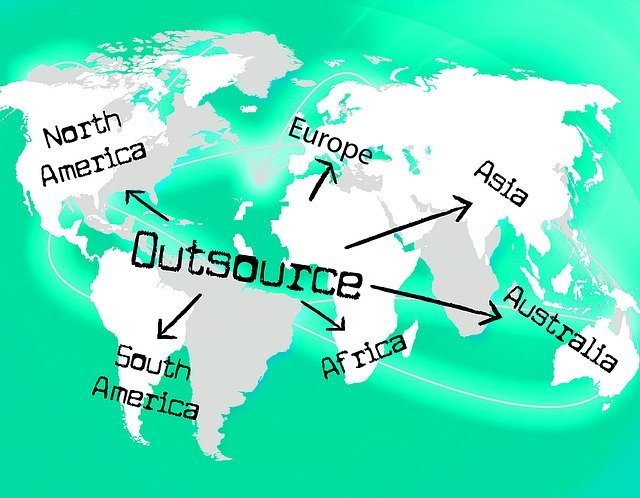 outsource worldwide countries