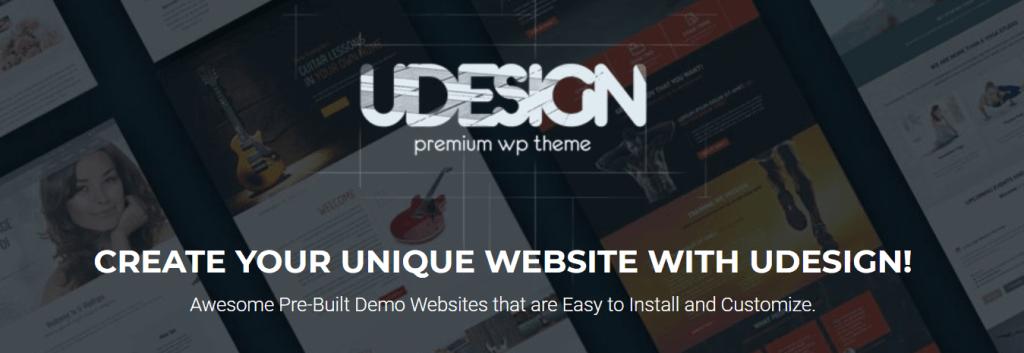 uDesign theme