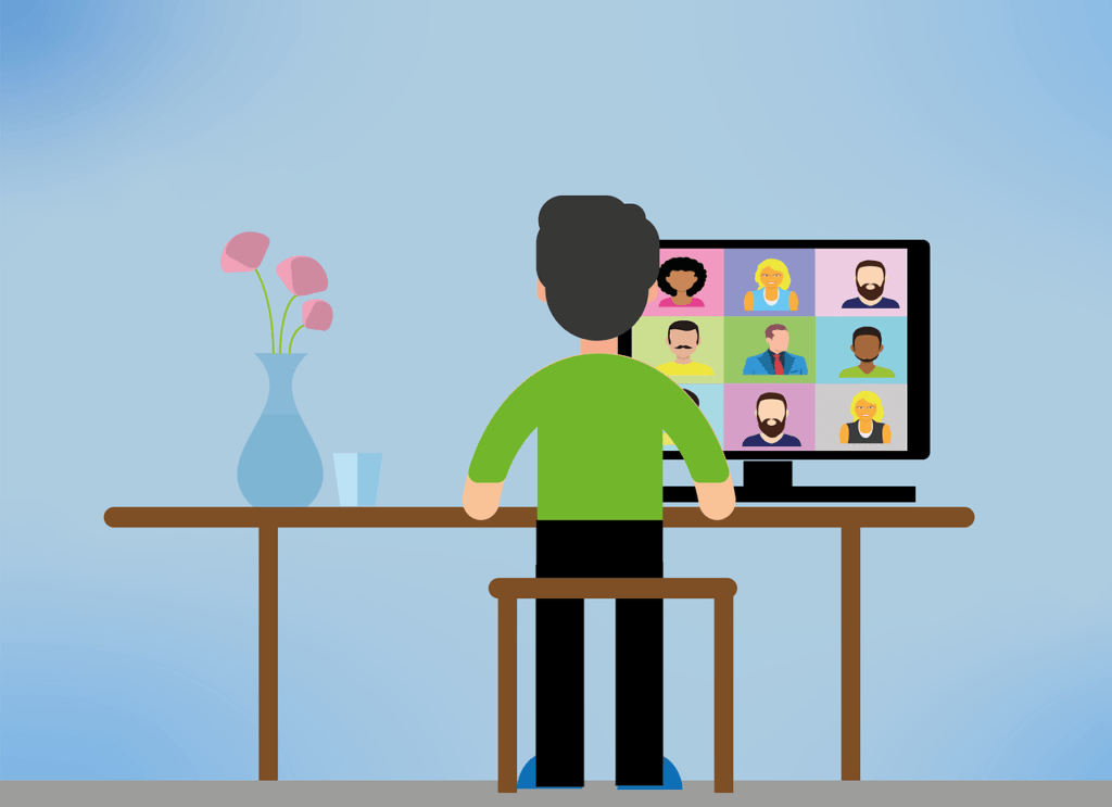 Video Conference Communicate with Your Audience and Employees