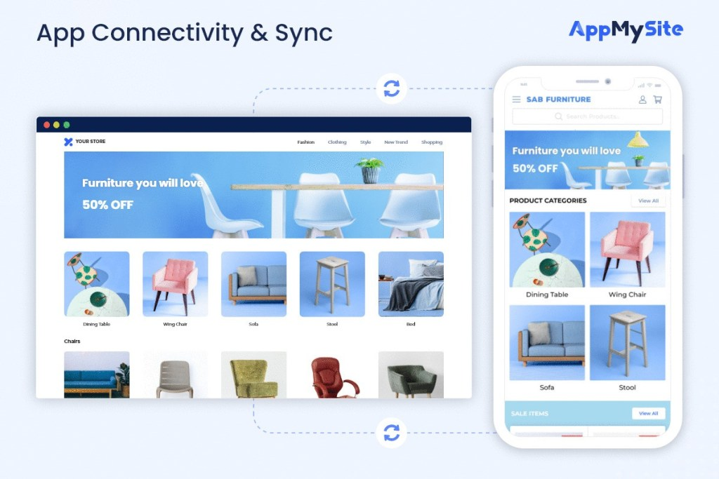 App Connectivity & Sync