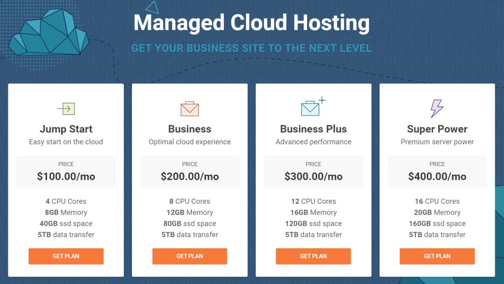 SiteGround Web Hosting Cloud