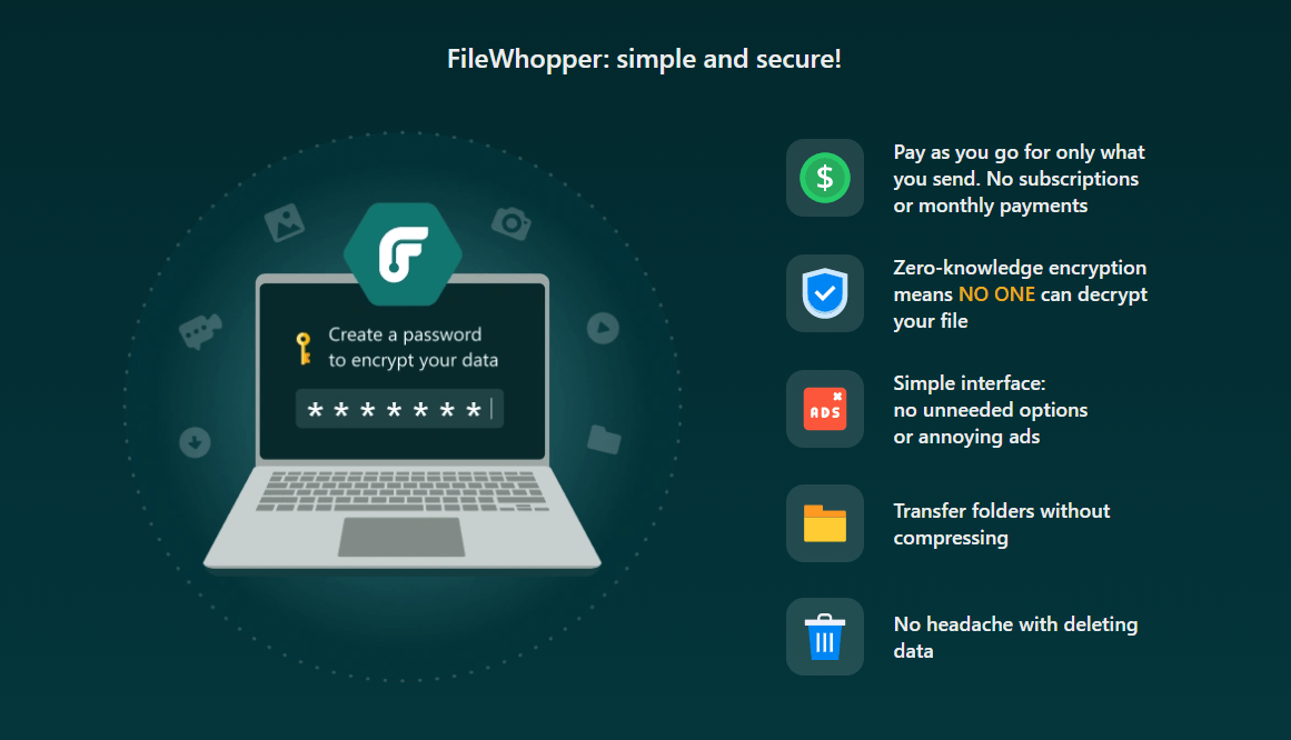 FileWhopper Features