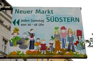 Wochenmarkt Südstern in Kreuzberg