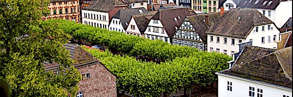 Wochenmarkt in Holzminden an der Weser