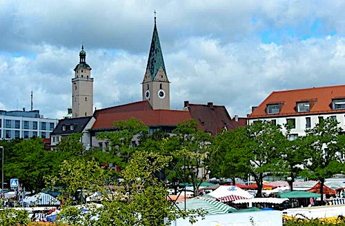 Igolstadt Markt - regionale Lebensmittel in Bayern