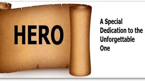 """Hero"" On Scroll"