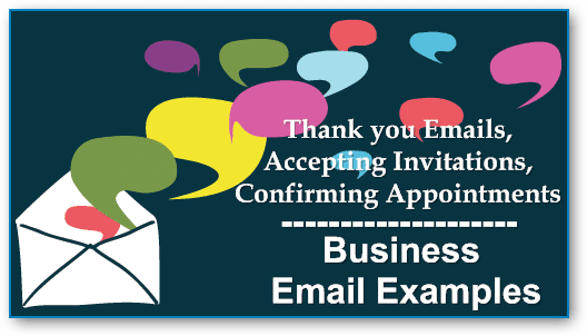 business email examples  thank you emails  accepting