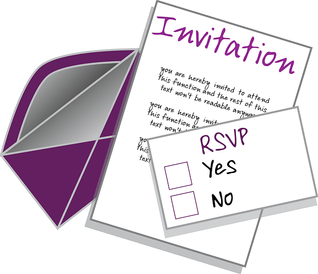 sample rsvp e mail responses for