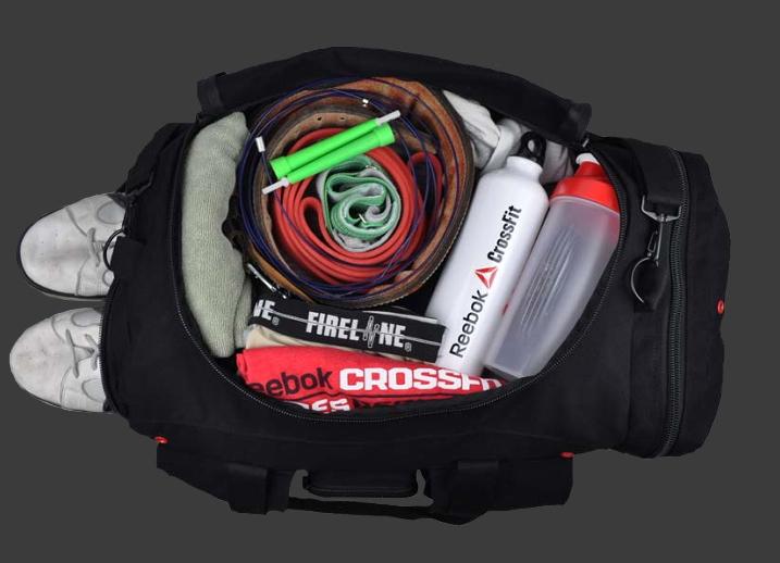 un sac de CrossFit ®* pour la competition