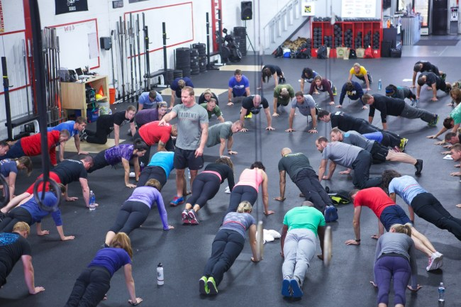 Crossfit coaching
