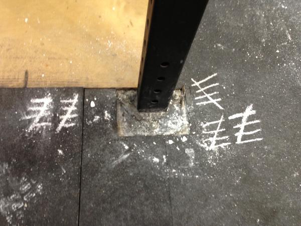 chalk crossfit