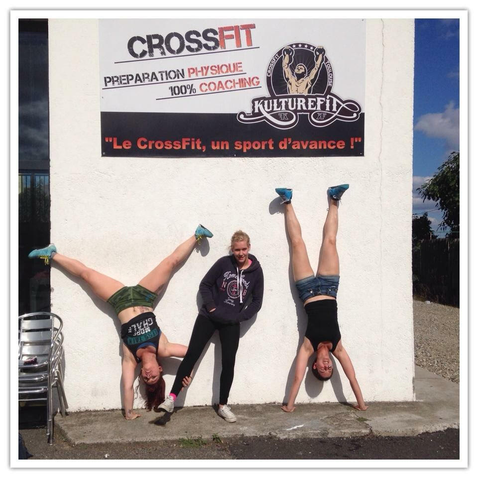 Sophia et Manon a CrossFit ®* Toulouse