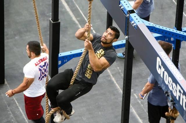 Julian Alcaraz en en action lors des CrossFit ®* Games