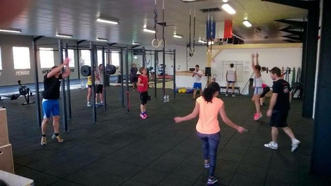 L'echauffement a CrossFit Valence