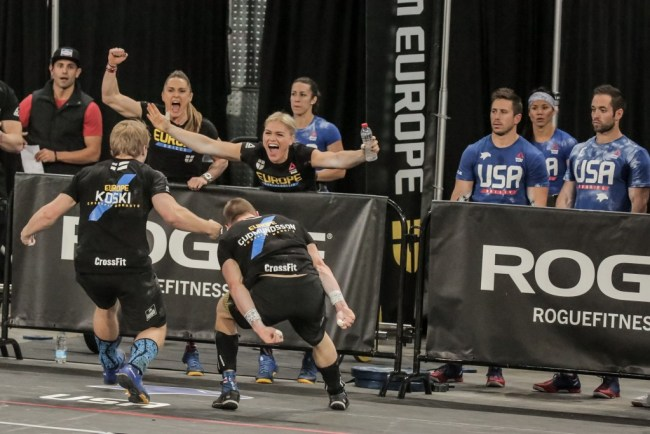Reebok CrossFit ®* Invitation-L'equipe Europe en action
