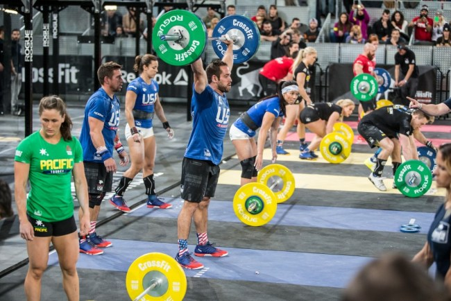 Reebok CrossFit ®* Invitational 2015-En plein WOD