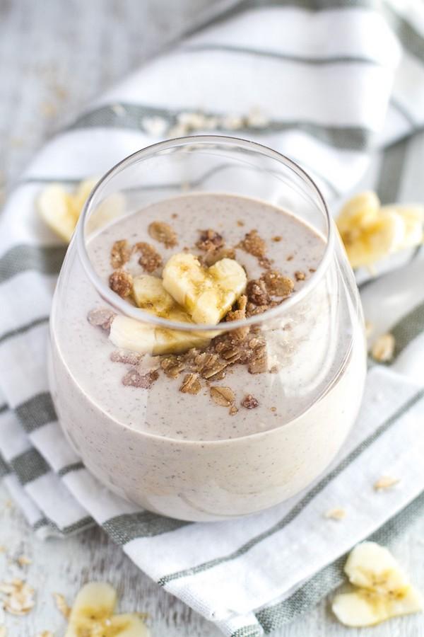 Shake banane miel noix wodnews