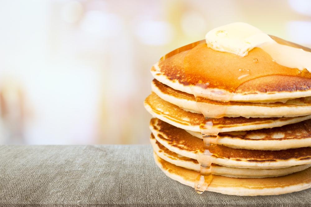 pancake à la farine de patate douce