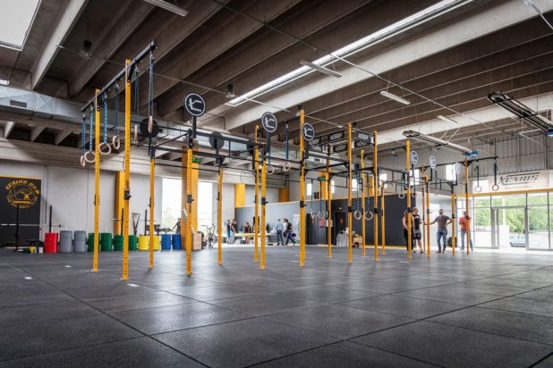 Attrezzatura Box CrossFit Xenios