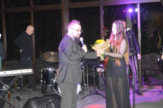 Kacper Biernacki z Adrianną Noszczyk
