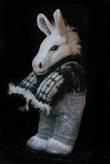 White Donkey Doll