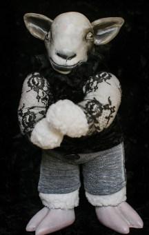 Spring Lamb Doll