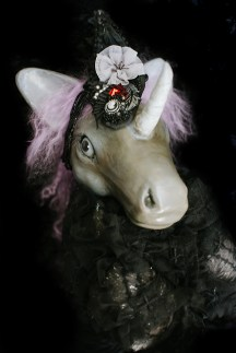 Lavendar Unicorn Doll