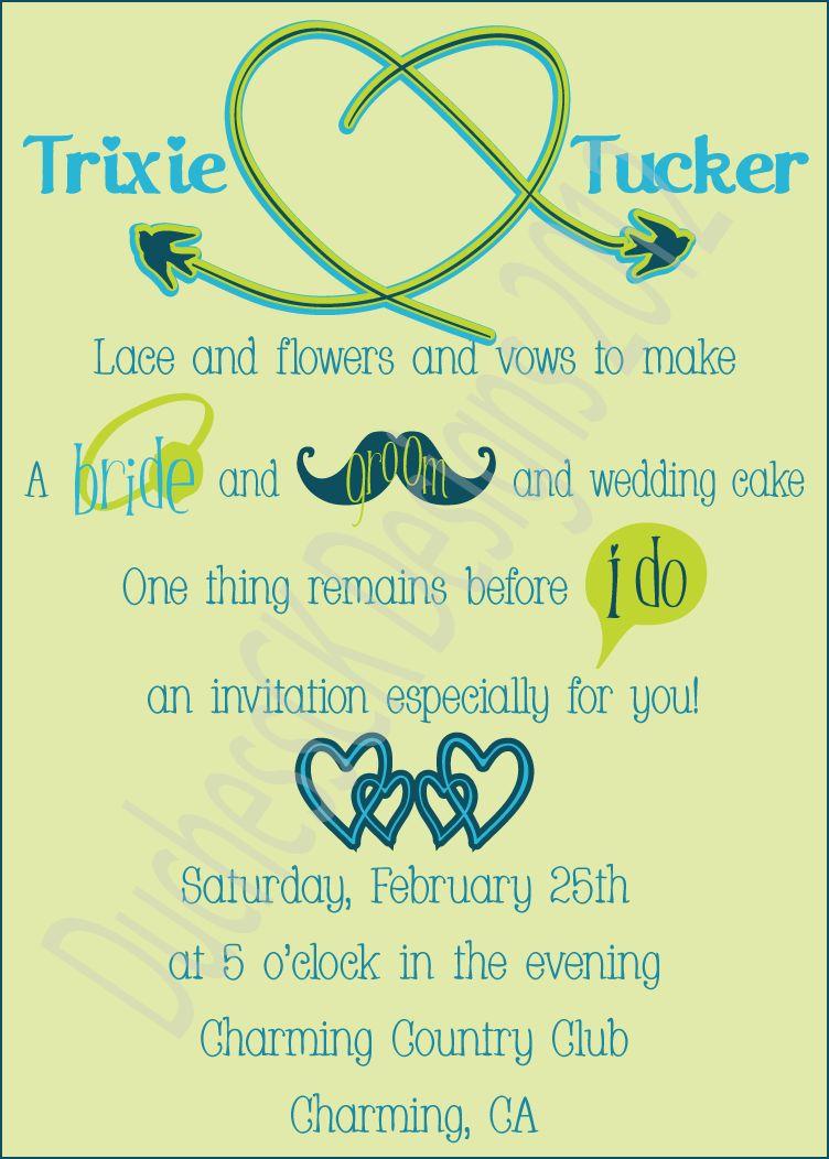 Examples Wedding Invitations Bride And Groom Wording