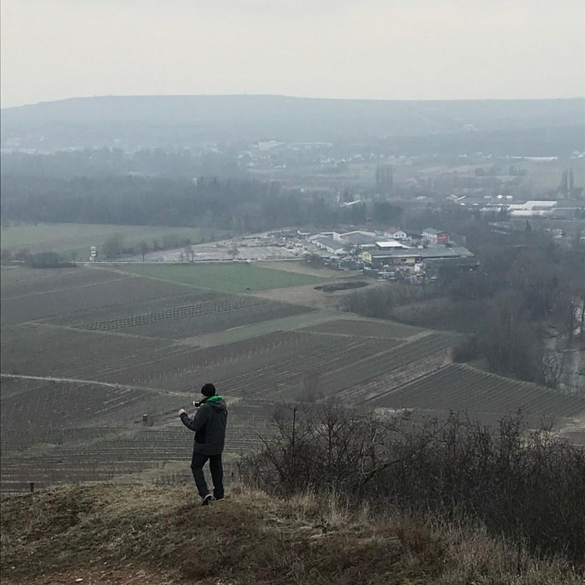 Abstieg mit Blick auf Gobelsburg