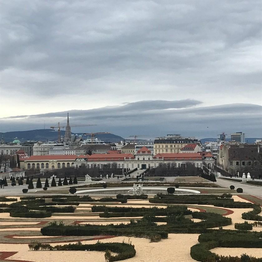 Der Canaletto-Blick auf Wien