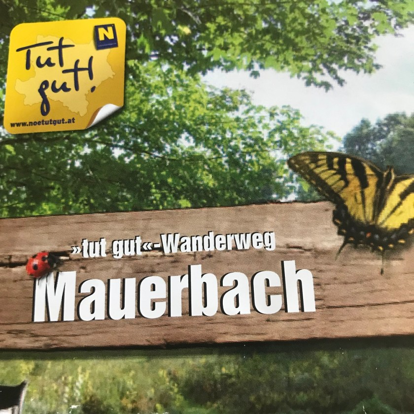 Folder Tut gut - Wanderweg