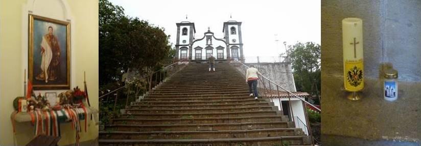 Grab von Kaiser Karl I in Monte auf Madeira.