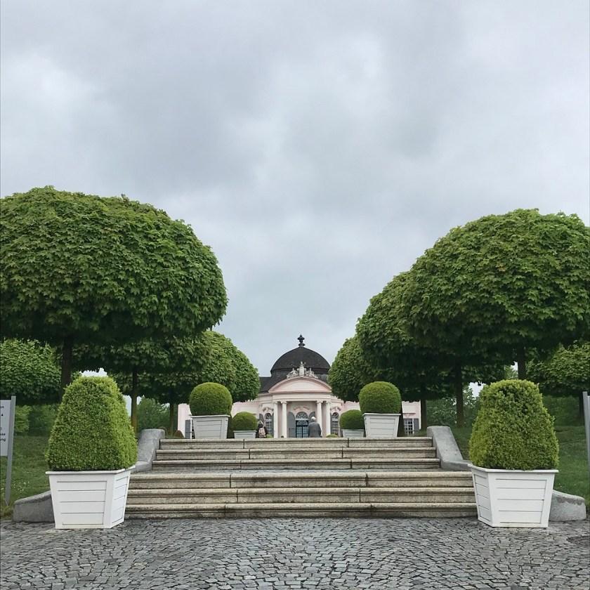Eingang zum Stiftspark