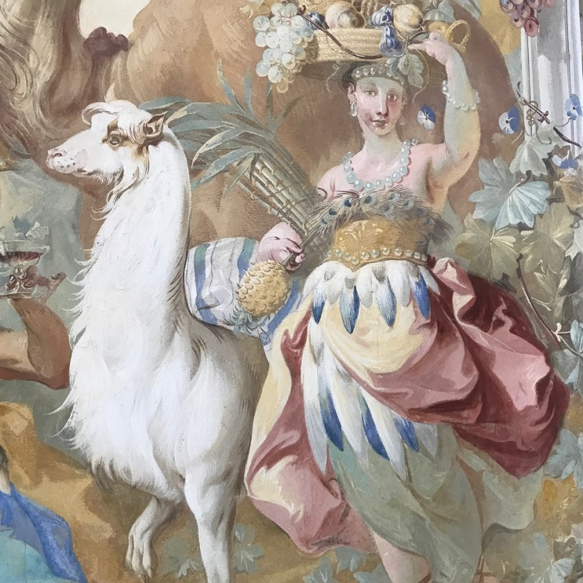 Fresken von Johann Baptist Wenzel Bergl
