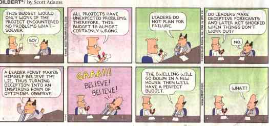 Dilbert on leadership